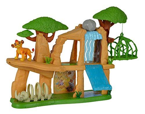 """Simba - Disney - la Garde du Roi Lion - Ensemble de Figurine - """"la Garde du Roi Lion"""" - Terre Sacrée + Accessoires - 109318728"""