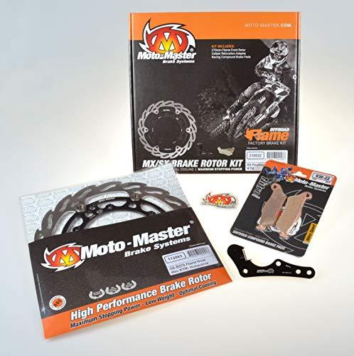 Suzuki 10-18 RMX450Z Front Brake Disc Flames MotoMaster 110287 Moto-Master 05-17 RM