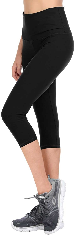 VIV Collection Women's High Waist Brushed Buttery Soft Print Fashion Capri Leggings List 2