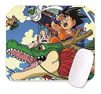 Dragon Ball Z Mouse Pad Anime Gaming Mouse Pad 10.6X12.6X0.2 Inch Edges Waterproof Mousepad Ideal for Desk Cover PC and Laptop-Dbz-2-one Size