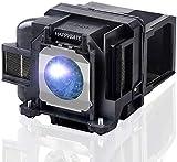 Lámpara de proyector de repuesto para Epson ELPLP88/V13H010L88 y ELPLP78/V13H010L78 Home Cinema PowerLite 2040 1040 2045 740HD 640 Proyector Bombilla con carcasa