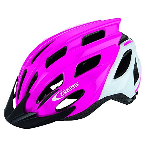 288520var - Casco Bicicleta kore Junior MTB Road Color Rosa/Blanco Talla 52-56