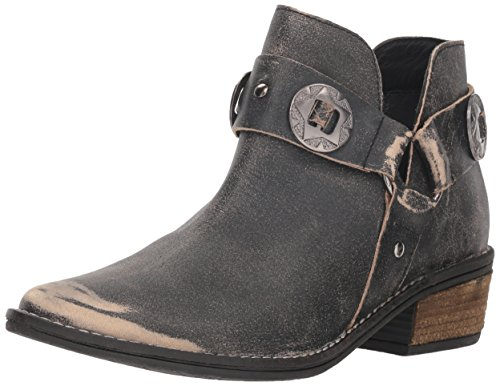 Chinese Laundry Women's Austin Ankle Boot, Black Leather, 6.5 M US