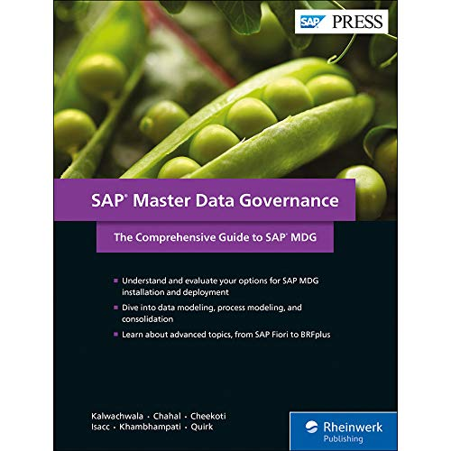 SAP Master Data Governance: The Comprehensive Guide to SAP MDG (SAP PRESS: englisch)