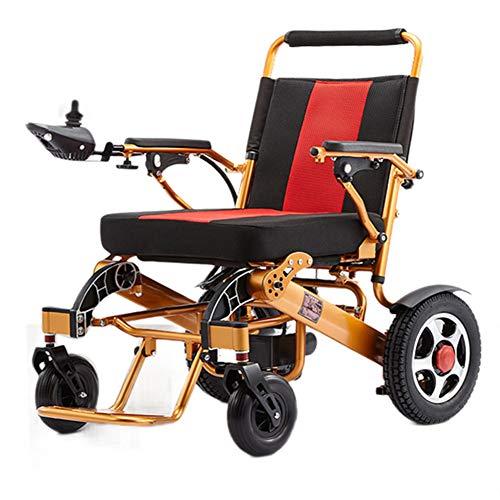 LFF Wheelchair elektrische rolstoel, met een lichtgewicht lithium-batterij, die intelligent opvouwt, kan in het vliegtuig, oudere ongeschikte scooters worden gebruikt.
