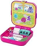 Polly Pocket Mundo Sorpresa Princesas, cofre de muñecas con accesorios (Mattel GDK80) , color/modelo surtido