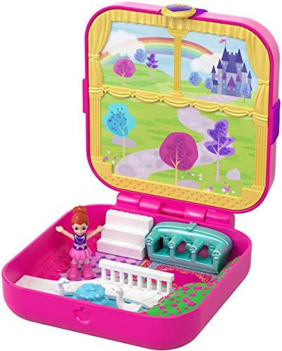 Polly Pocket- Cofanetto Castello della Principessa Giocattolo per Bambini 4+Anni, Multicolore, GDK80