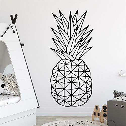 Adesivi murali frutta Ananas decorazione Della Camera dei Bambini Decalcomania Della parete di vinile Art decorazione Home Decor Poster Muursticker 58 X 133 cm