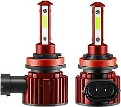 Andifany 4-kanten H8 H9 H11 LED Combo Hoofd Licht Hoog/Dimlicht Lamp Super Heldere Ijsblauw 8000K