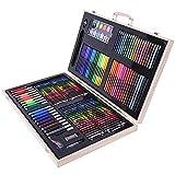 Lápiz de Color for Niños Un portátil Estudio de Metal Box Set Niños de Pintura - Gráfico de los niños lápiz crayones (Color: Negro, tamaño: Tamaño Libre) (Color : Natural, Size : Free Size)