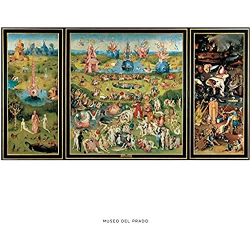 """Lámina del Museo del Prado """"El jardín de las delicias-El Bosco"""""""