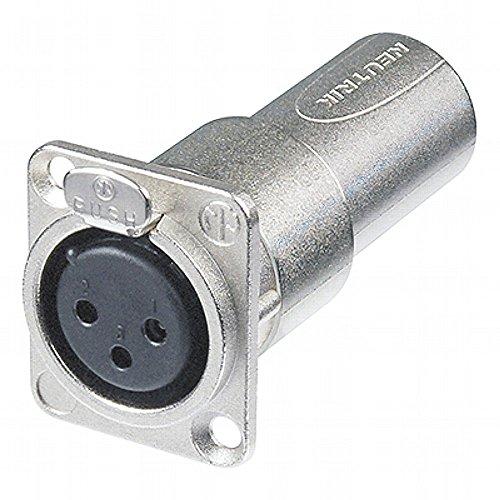 NEUTRIK - NA3FDM Female-Male Durchgangs Adapter 144589