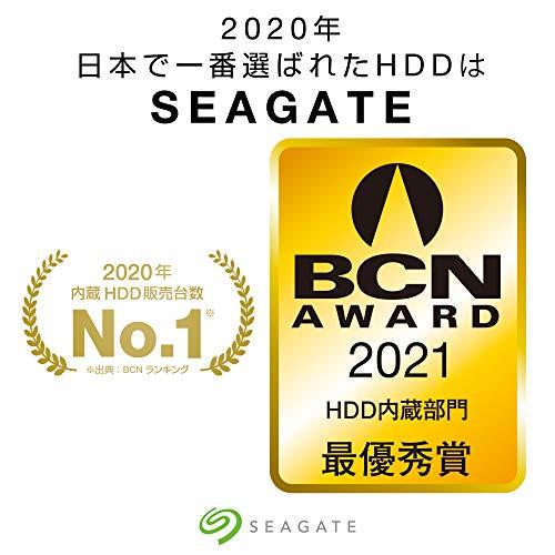 "『【Amazon.co.jp限定】Seagate BarraCuda 3.5"" 8TB 内蔵ハードディスク HDD 2年保証 6Gb/s 256MB 5400rpm 正規代理店品 ST8000DM004』の2枚目の画像"
