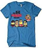 Camisetas La Colmena 208-The Big Minion Theory (Donnie) Royal M