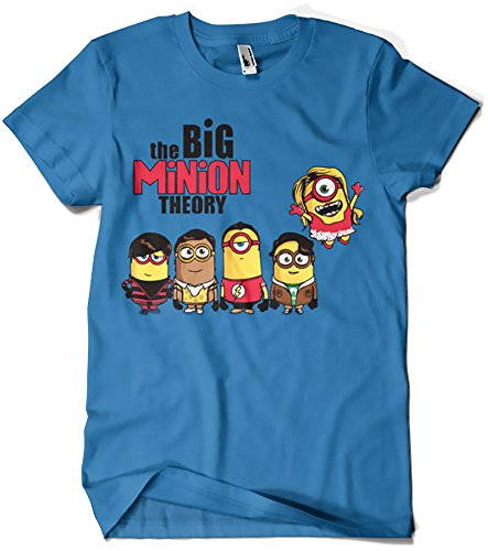 Camisetas La Colmena 208-The Big Minion Theory (Donnie) Royal S