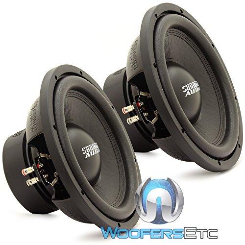 """E-12 V.3 D2 Pair - Sundown Audio 12"""" 500W RMS Dual 2-Ohm EV.3 Series Subwoofers"""