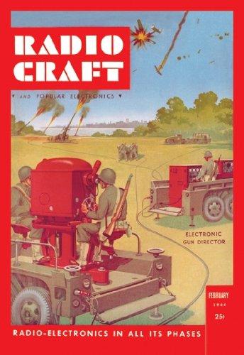 Radio Craft: Electronic Gun Director - 12x18 Art Poster by Radcraft