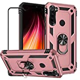 BT-Share For Xiaomi Redmi Note 8T Case with Tempered Glass
