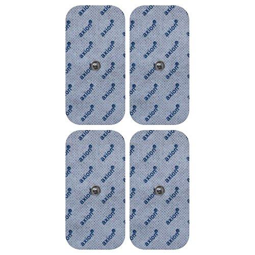 4 Elektroden / Pads 100x50mm. (Passend zu Sanitas SEM 40, 41, 42, 43, 44 u. Beurer EM 40 / EM 41 / EM 80)