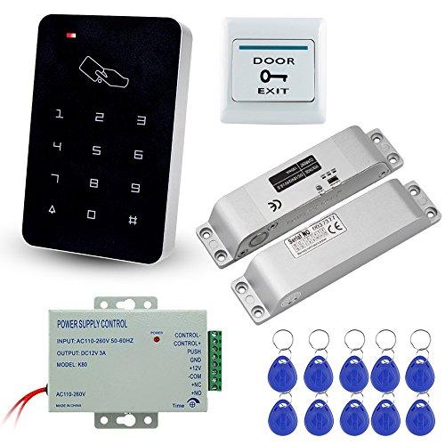 LIBO Kit Completo di Tastiera di Controllo Accessi RFID con Serratura...