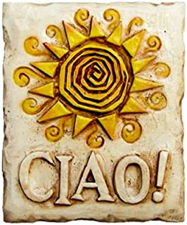 Art by Al Pisano Ciao Italian Decor Wall Plaque