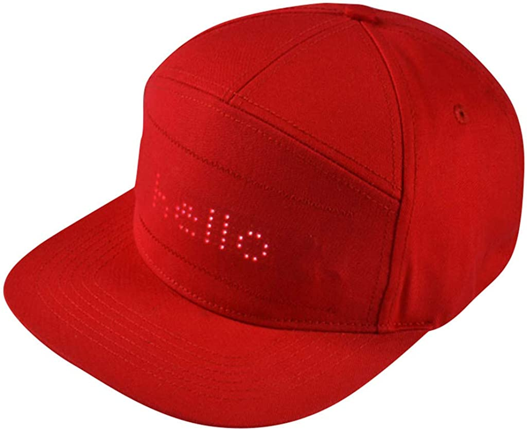 Men Women 2021 Fashion Novelty LED Max 40% OFF Smartphone Cont APP Lowest price challenge Party Hat