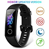 HONOR Band 5 Fitness Armband mit Pulsmesser, Wasserdicht