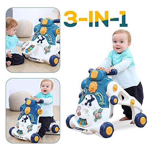 Best Prices! BeebeeRun Baby Activity Walker 3 in1 Sit to Stand Learning Walker Kids Multiple Activit...