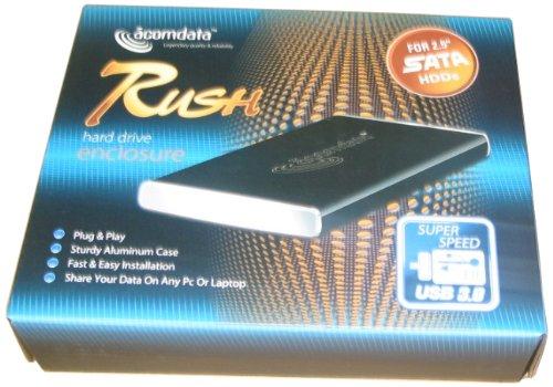 Acomdata 2.5 Rush Aluminium Case USB 3.0 Schwarz