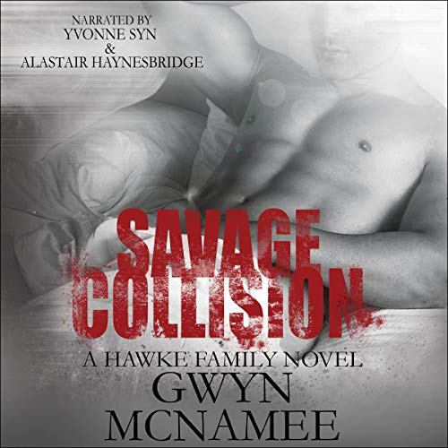 Savage Collision audiobook cover art