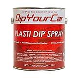 Plasti Dip Multi-purpose Rubber Coating Spray - Sprayable - One Gallon (128oz) - Gunmetal Gray