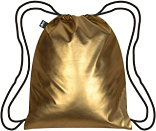 LOQI LQB3-MMGO Metallic Matt Gold Backpack, Gold, L Capacity