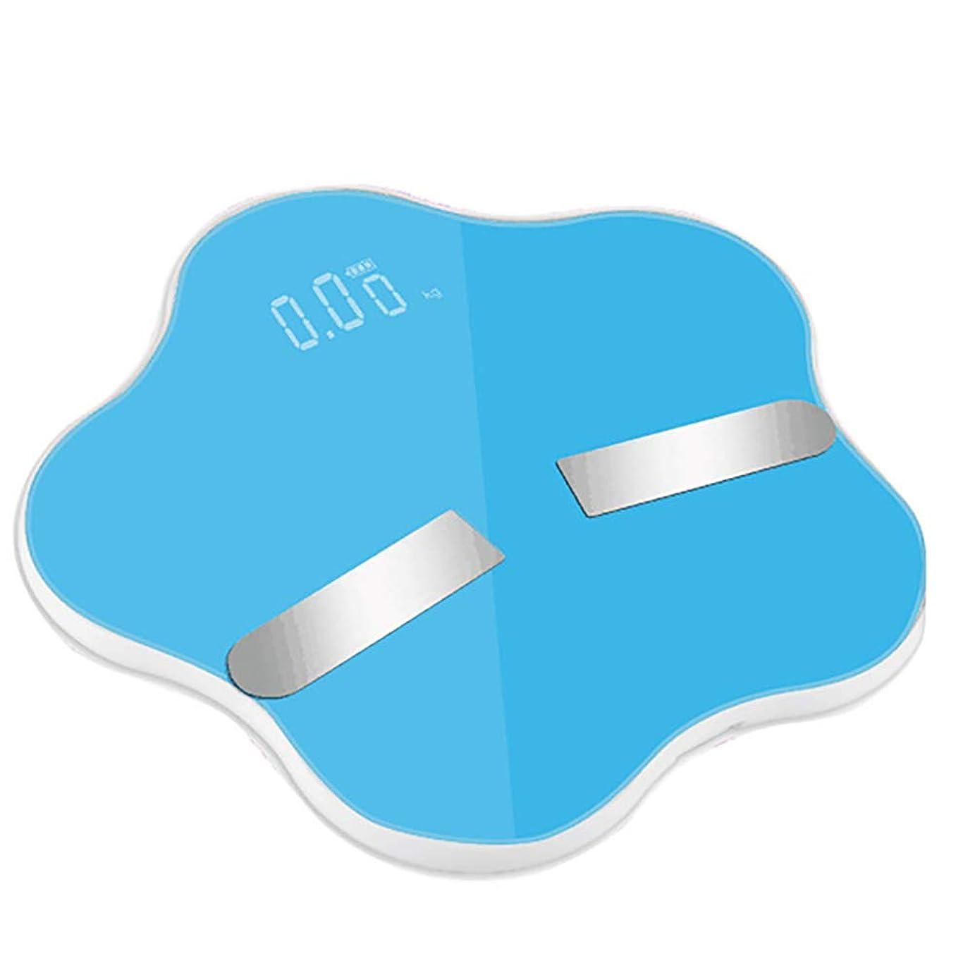 衣装間に合わせ戦術スマートスケールホームBluetoothデジタル計量スケール電子スケール精密Bmiスケールデジタルスケール重量,Blue