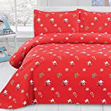 Oliven 3 Pieces Christmas Quilts Full/Queen Size,Lightweight...