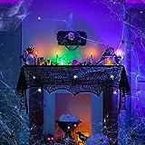 LOVEXIU Halloween Decoracion,Halloween Decoracion Terror Casa TelarañA Mantel Decoracion ArañAs Chimenea de Halloween Decoracion Mesa,para La Fiesta de Halloween Exterior JardíN Puerta Interior