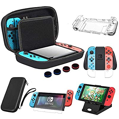 Amazon - Save 40%: BOENFU Carrying Case for Nintendo Switch Bundle Accessories for Nintendo…