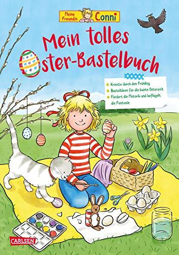 Conni Gelbe Reihe (Beschäftigungsbuch): Mein tolles Oster-Bastelbuch: Beschäftigung für die Osterzeit für Kinder ab 4