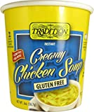 Tradition Gluten Free Imitation Creamy Chicken Flavor Instant Noodle Soup 2 Oz (Pack of 12)