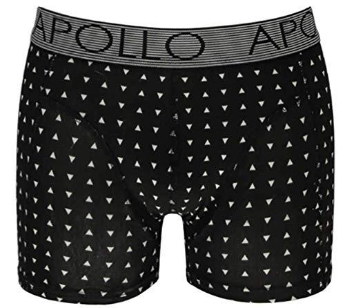 Apollo - Boxershorts heren - zwart - 2 pack - Maat S