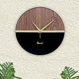 Inspired by a contemporary design that's simple and timeless, Modern Rustic Large Wooden Wall Clock is the perfect touch to your home. This Wooden wall clock elegant design make it even more unique and stylish. It will look trendy hanging on your wal...