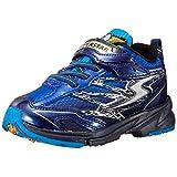 [スーパースター] スニーカー 運動靴 幅広 3E 男の子 16~25cm 0.5cm有 キッズ SS J817 ブルー 22.0 cm