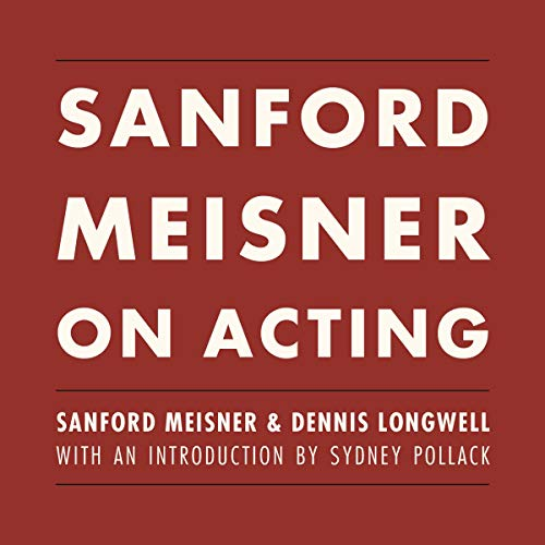 Page de couverture de Sanford Meisner on Acting