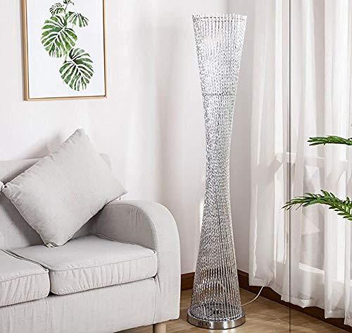 Wohnstehlampe/Schlafzimmer Nachttischlampe LED,Silver