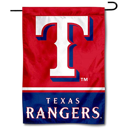 WinCraft Texas Rangers Double Sided Garden Flag