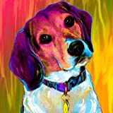 beagle dog breed limited edition art print