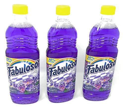 Fabuloso Lavender Freca Lavanda 22oz FL OZ (Pack of 3)