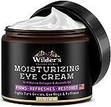 Moisturizing Men's Eye Cream - Eye Firming & Refreshing Men's Wrinkle Cream - Made in USA - Men's Anti-Aging Cream for Dark Under-Eye Circles, Eye Bags & Puffiness - Under Eye Cream for Men 2 fl oz