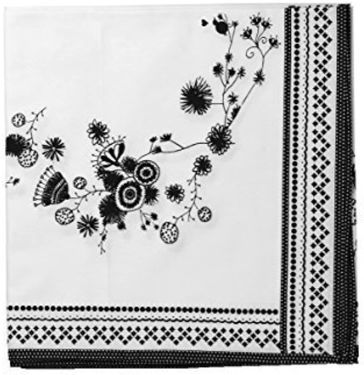 Mimex Miss Blackbirdy Flower Table Runner, 24 by 72Inch by Mimex