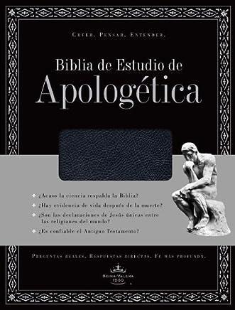 Biblia de Estudio de Apologetica, imitacion piel, con indice (Negro) (Spanish Edition) by B&H Espanol Editorial Staff (2011-05-01)
