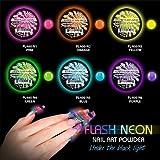 Best Acrylic Powders - 6 Mia Secret Flash Neon Acrylic Nail Art Review